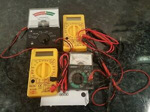 JOB LOT ANALOGUE MULTIMETER DRAPER MICRONTA X4 RADIO HAM ELECTRONICS TESTING