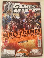 GamesMaster #306 August 2016 The 51 Best Games of 2016 (FREE 1st CLASS POSTAGE)
