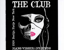 CD HANS VISSER & FRIENDS the club HOLLAND 1999 EX+  Jazz, Funk / Soul, Pop