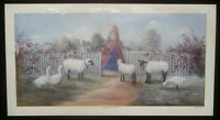 "Glynda Turley ""Fence Row Gathering 2"" Print Signed #1305/5000"