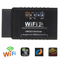 ELM327 WIFI OBDII Auto Car Diagnostic Scanner Scan Tool for iOS Android A YK