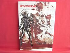 Master Artworks Metal Gear Solid 4 Guns of the Patriot analytics art book / PS3