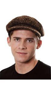 ADULTS TUDOR VICTORIAN HAT CHIMNEY SWEEPER FLAT CAP FANCY DRESS COSTUME HAT