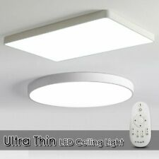 LED Ceiling Down Light Dimmable Ultra Thin Flush Mount Kitchen Lamp Home Fixture