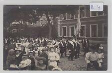 2108, Privat Fotokarte Roebel Straßenumzug gelaufen 1909 tolle Karte !