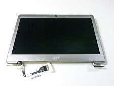 "SILVER 13.3"" LED SCREEN ASSM FOR ACER ASPIRE S3-391 ULTRABOOK TOP NX-M1FEK.004"