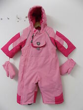 Mayoral snowsuit with mittens size 3-6 6-9 months 6m WORN ONCE FREE UK PP