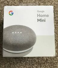 Google Home Mini Smart Speaker - Chalk New - UK Stock