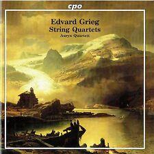 CD - EDWARD GRIEG - String Quarted - Auryn Quarted