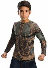 Rubie's Costume Boys Justice League Aquaman Top Costume, Medium, Multicolor