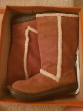 Rocket Dog Sofie Suede Chestnut Women Boots Shoes Size 7 Uk