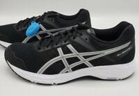 Asics Gel Contend 5 Running Shoes Black Silver 1012A234.002 Women's Size 10.5