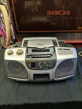 Aiwa Csd-Es227 Am/Fm Radio Cd Player Cassette-Recorder Stereo Boombox