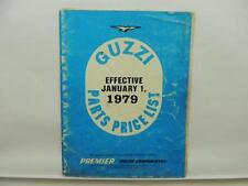 1979 Moto Guzzi 1000 Parts Price List Motorcycle Ducati L10912
