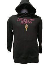 ASU Arizona State Sun Devils Hoodie Black by Fanatics Brand Mens Size L NWT