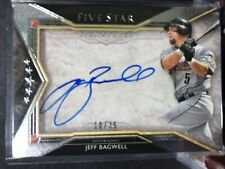 2018 Topps Five Star Houston Astros Jeff Bagwell Auto #10/35 Signatures
