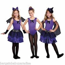 NEW Totally Ghoul Bewitching Beauties Costume 3 in 1 Bag Sz S 4 - 6 Purple Witch