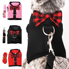 Rabbit Leash Vest Small Dog Cat Mesh Cotton Hamster Harness Leash Pet Strap