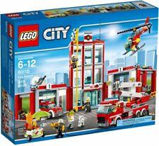 Lego City 60110 La Caserne des pompiers NEUF