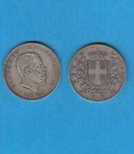 Italia Italie  Vittorio Emanuele II (1861-1878) 5 Lire Argent 1865 Napoli