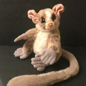 Animal Alley Plush Lemur Kinkajou Sugar Glider Toy Long Tail Stuffed Toys R Us