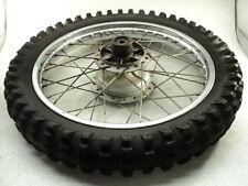 Suzuki TC185 TC 185 #6025 Chrome Rear Wheel & Tire