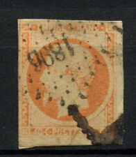 France 1853-61, 40c Napoleon III Imperf Used #A61638