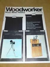 WOODWORKER MAGAZINE - CAMERA TRIPOD Jan 1969 Vol 73 #902