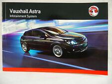 Vauxhall Audio Astra H Radio Cd & Bluetooth Manual Manual 2005 - 2013