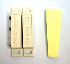 10pair Reed Switch 5046-W Com-NC-NO 65x13x13mm Ivory 0.5A AC125/250 DC30V Guard