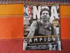 RIVISTA UFFICIALE NBA=N°57 2011=SPECIAL ISSUE NBA FINALS 2011 DALLAS CAMPIONI