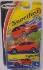 MJ7 Matchbox - 2004 Superfast #63 Ford Focus - Orange