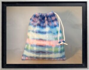 Gymnastics Leotard Grip Bags / Horizon Tie Dye Gymnast Birthday Goody Bag