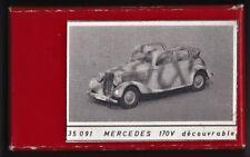 JMP PRODUCTION 35091 - MERCEDES 170V DECOUVRABLE - 1/35 RESIN KIT