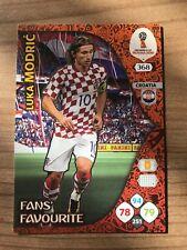 Adrenalyn XL Weltmeisterschaft 2018 Fans Favourite Karte Luka Modric Kroatien WM