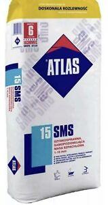 Atlas SMS 15 Ausgleichsmasse 1-15 mm 25 kg selbstnivellierende Zementbasis NEU
