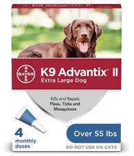 K9 Advantix II Extra Large Dog 4 Monthly Doses
