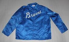 Vintage 1980's Atlanta Braves satin baseball jacket by Wilson size XL