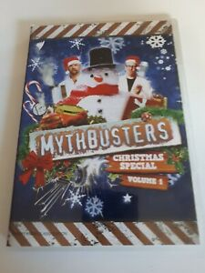 DVD: Mythbusters Christmas Special Volume 1. PAL R4 AUS
