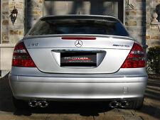 Heckspoilerlippe für Mercedes E Klasse W211 500 63 AMG Heck Spoiler Trunk 55 65