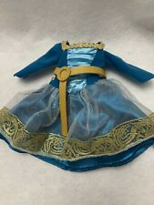 """Disney Princess Brave  Merida 14"""" Doll with Bear Brothers Dress Replacements"""
