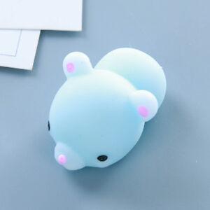 3D Cute Mochi Squishy Squeeze Healing Fun Kids Kawaii Toy Stress Reliever Decor