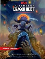 D&D Waterdeep Dragon Heist HC (D&D Adventure) Hardcover