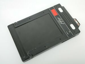 Linhof Doppelplanfilmkassette 9x12cm m Auswerfer Double Plate and Cutfilm Holder