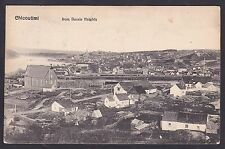 Circa 1908 Vintage Postcard From Basin Heights CHICOUTIMI, Quebec Canada