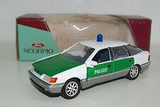 SCHABAK 1502 1501 1500 FORD SCORPIO POLIZEI MINT BOXED RARE SELTEN RARO!!