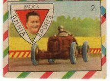 figurina OMNIA SPORT 1948 numero 2 BROCK