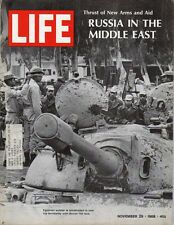 LIFE Nov 29,1968 Russia in Middle East, Vatican and Birth Control, Circus CIrcus
