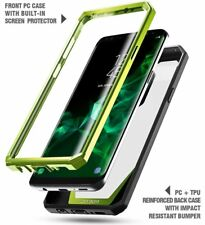 "Poetic Guardian ""Rugged Heavy Duty"" Case For Samsung Galaxy S9 Plus Green"
