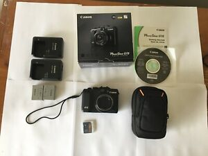 Canon PowerShot G15 12MP Compact Digital Camera~W/ box & accessories.